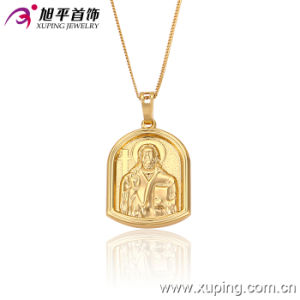 32146 Fashion Lively Human 18k Gold-Plated Imitation Jewelry Pendant Chain in Environmental Copper pictures & photos