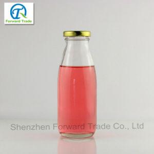 100ml-500ml Yogurt Milk Glass Bottle with Tin Lid