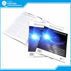 Monthly A4 Saddle Stitch Color Magazine Printing pictures & photos