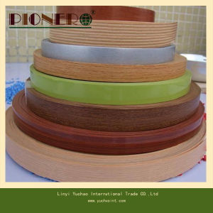 Pre-Glued Melamine PVC Edge Banding for MDF pictures & photos