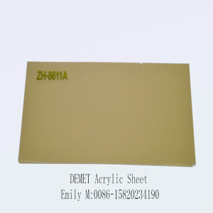 Pure Acrylic Sheet for Kitchen Cabinet Door (ZH-8611) pictures & photos