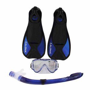 Mask, Snorkel&Fins Combo Set (AM-100J+AS-303JF+AF-680)