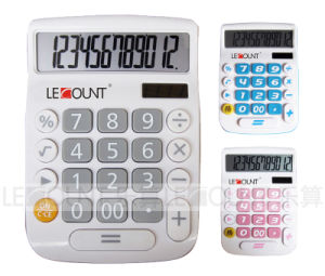 8 Digits ABS Dual Power Large Key Desktop Calculator (LC201-8D) pictures & photos