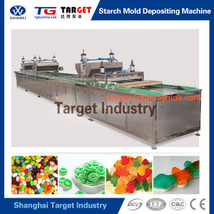 Starch Mold Jelly Candy Depositing Line (GDQS300) pictures & photos