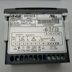 Xr70cx, Dixell Temperature Controller, Emerson Dixell Brand pictures & photos