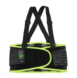 Breathable Polyester Mesh Safety Belt to Protect Back of Workers