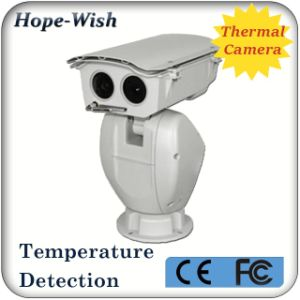 Temperature Detection Dual View Thermal Imaging Camera with PTZ Visible CMOS pictures & photos