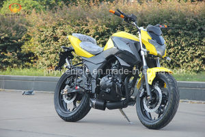 Yellow with Black Racing Motorcycle pictures & photos