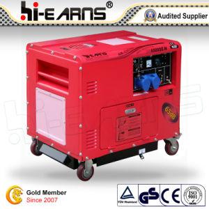 5kw Silent Type Diesel Generator/ Homeuse Generator Set (DG6500SE-N) pictures & photos