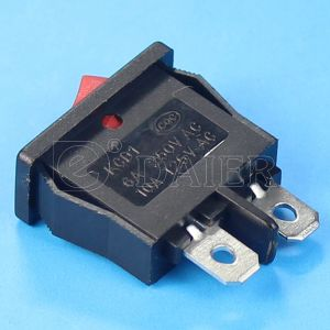 Mini Spst on-off Black Rocker Switches pictures & photos
