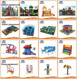 Kid Indoor Soft Playground, Children′s Play Equipment pictures & photos
