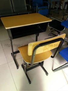 Hotsale Good Quality School Furniture School Chair Desk Classroom Furnture Student Furniture Student Desk and Chair (YA-015) pictures & photos