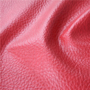 China Wholesale High Abrasion-Resistant Artificial PVC Sofa Cover Leather pictures & photos