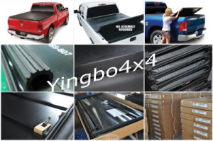 Soft Tri Fold Tonneau Cover for Toyota Hilux Vigo Double Cab 05-14