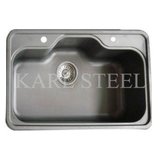 Undermount 304 Stainless Steel Kitchen Sink pictures & photos
