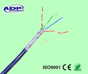 Cat5e SFTP/SSTP LAN Cable PVC Jacket PE Insulation pictures & photos
