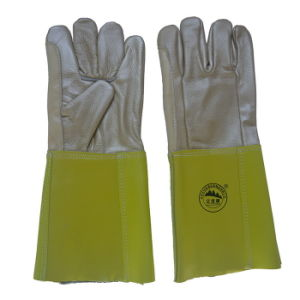 Furniture Leather Hand Protective Welding Safety Gloves pictures & photos