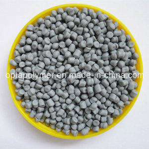 Parcel Thermoplastic Vulcanizate TPV Pellets in Grey for Extrusion, Injection and Blow Molding pictures & photos