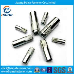Jiaxing Haina 304 Stainless Steel Drop in Anchor with Knurling pictures & photos