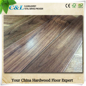 Foshan C&L Classic Luxury American Walnut Solid Wood Flooring