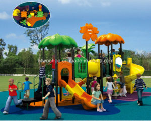 Kids Playzone Play Set Outdoor Amusement Park Plastic Slides pictures & photos