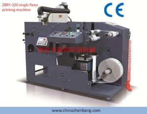 Self-Adhesive Label Flexo Printing Machine One Color pictures & photos