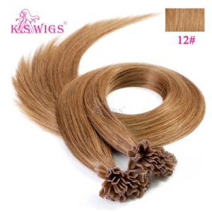Good Quality Keratin Hair Extension V Tip Human Hair pictures & photos