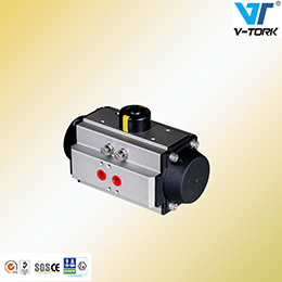 Floating Ball Valve with ISO 5211 Pneumatic Actuator pictures & photos