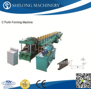 High Speed Z Purlin Roll Forming Machine pictures & photos
