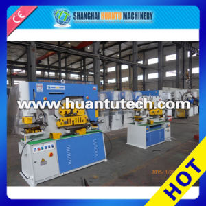 Hydraulic Ironworker Cutting Tool Machine, Hydraulic Angle Iron Shear (Q35Y-30) pictures & photos