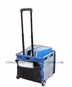 Plastic Folding Cart with Pouch and Cover (FC406LP-1) pictures & photos