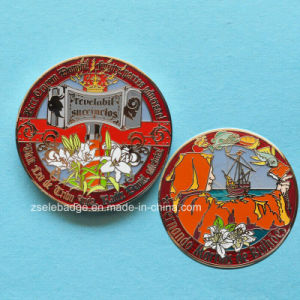 Custom Hard Enamel Metal Coin for Promotion (Ele-C117) pictures & photos