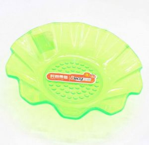 Unique Design Plastic Green Fruit Basket pictures & photos