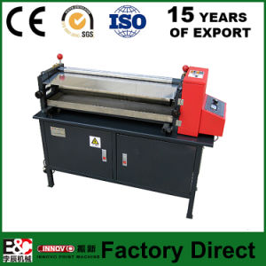 Js Semi-Automatic Glue Machine Center Gluing Machine pictures & photos