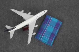 100%Polyester Woven Airline Blanket (HF0019)