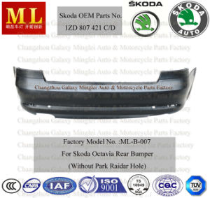 Rear Bumper for Skoda Octavia From 2009-2ND Generation (OEM auto parts No.: 1ZD 807 421C/D) pictures & photos