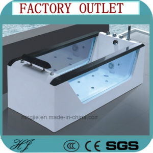Ningjie Sanitary Ware Acrylic Bathtub with The Jacuzzi (501) pictures & photos