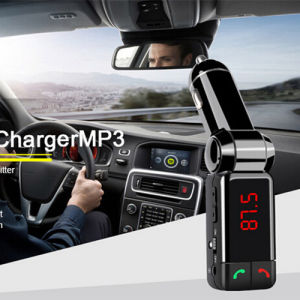 Bluetooth Car Charger Bc06 with USB Flash Driver FM Transmitter pictures & photos
