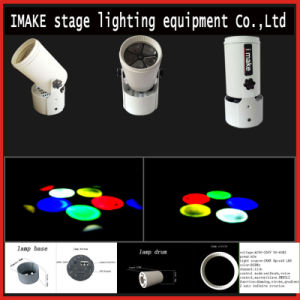 Indoor LED RGB Spot Rotating Moving Head Light for Stage Party Club