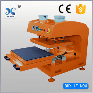 Large Format Rosin Dual Heater Pneumatic Tshirt Heat Transfer Printing pictures & photos