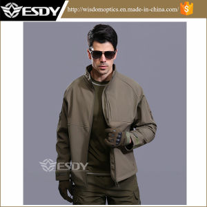 8-Colors Outdoor Commander Softshell Waterproof Windproof Coat Military Officer Jacket pictures & photos