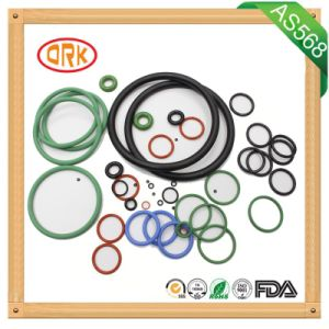 Black Mechanical Parts Silicone Rubber Products Silicone O Rings pictures & photos