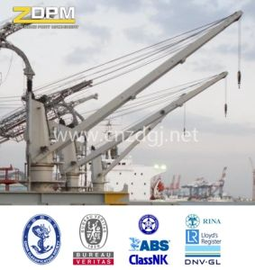 Hydraulic Deck Crane Marine Crane pictures & photos