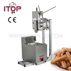 Stainless Steel Churros Machine and Gas Fryer (ITCM-11) pictures & photos