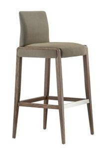 (SD-1008B) Modern Hotel Restaurant Club Furniture Wooden High Bar Stool pictures & photos