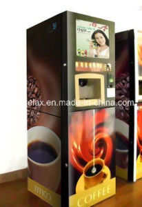 Hot Selling Coffee Vending Machine with Feeding Coin