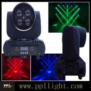 4PCS*15W RGBW LED Zoom Beam Moving Head pictures & photos