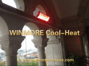 Patio Heater with Infrared Lamp Remote Control for Garden Ce & ETL pictures & photos