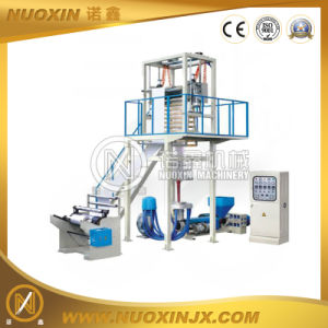 One Layer PE Film Blowing Machine with 2 Color Inline Printing pictures & photos