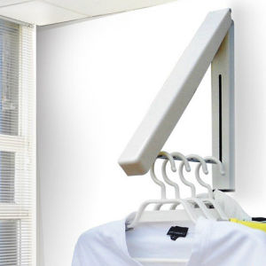 Wall Mounted Collapsible Hanger Laundry Room Organizer / Hidden Type Multifunctional Wall Clothes Hanger
